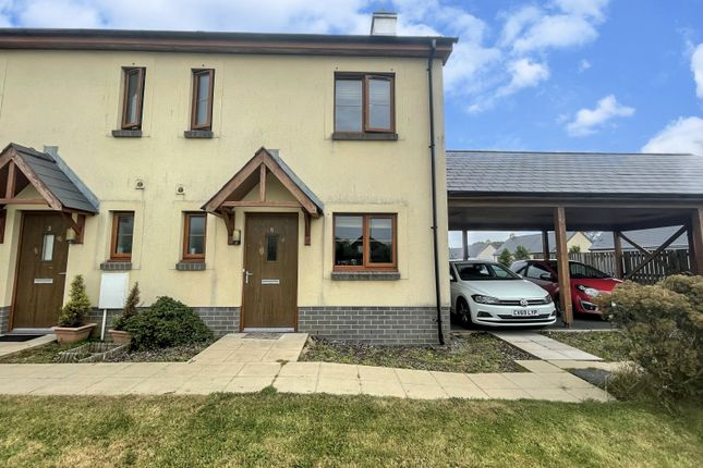 Thumbnail End terrace house for sale in Coppins Park, Pentlepoir, Saundersfoot