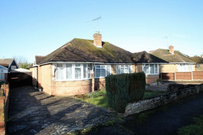 Thumbnail Semi-detached bungalow for sale in Medley Close, Eaton Bray, Bedfordshire