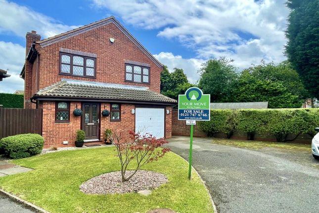Thumbnail Detached house for sale in Poundley Close, Castle Bromwich, Birmingham