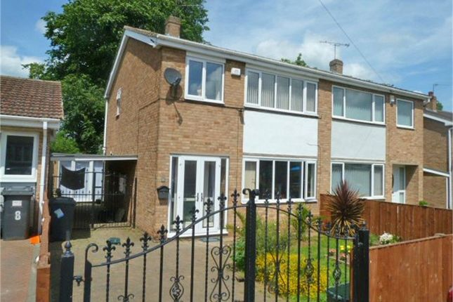 Thumbnail Semi-detached house for sale in Ascot Drive, Doncaster, South Yorkshire