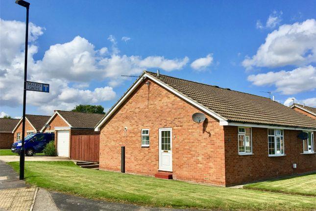 Thumbnail Semi-detached bungalow for sale in Malbys Grove, Copmanthorpe, York