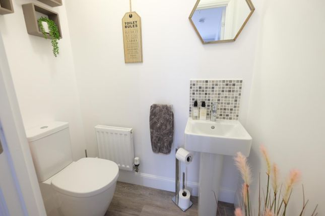 Downstairs WC of Summerhouse Drive, Norton, Sheffield S8