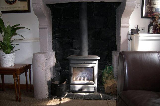 Wood Burner of Orchard Cottages, Nottingham Road, Belper DE56