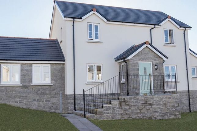 Thumbnail Detached house for sale in Plot 13, Green Meadows Park, Tenby