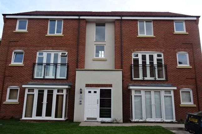 Thumbnail Flat to rent in Anglian Way, Stoke Village