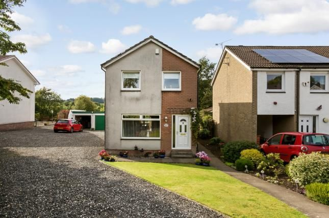 Thumbnail Detached house for sale in Bevan Grove, Johnstone, Renfrewshire