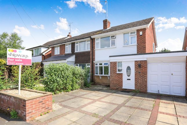 Thumbnail Semi-detached house for sale in Chiltern Close, Stourport-On-Severn