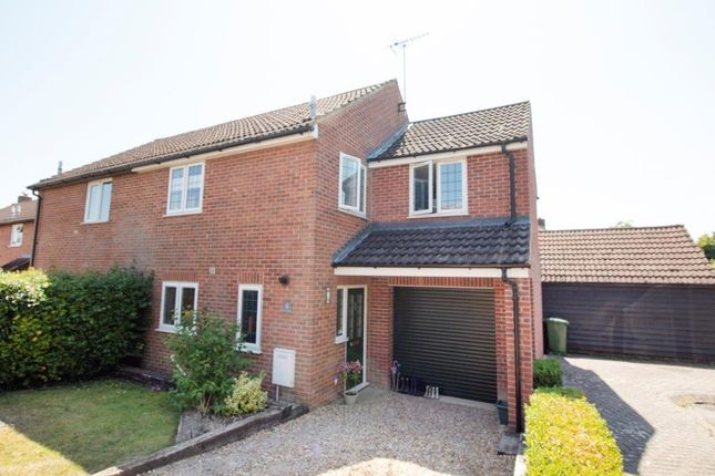 Thumbnail Semi-detached house for sale in Saxon Way, Lychpit, Basingstoke