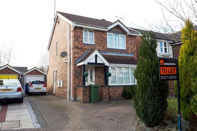 Thumbnail Detached house to rent in Rowan Avenue, Beverley