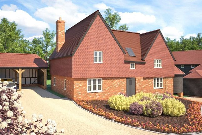 Thumbnail Detached house for sale in Razors Farm, Chineham, Basingstoke