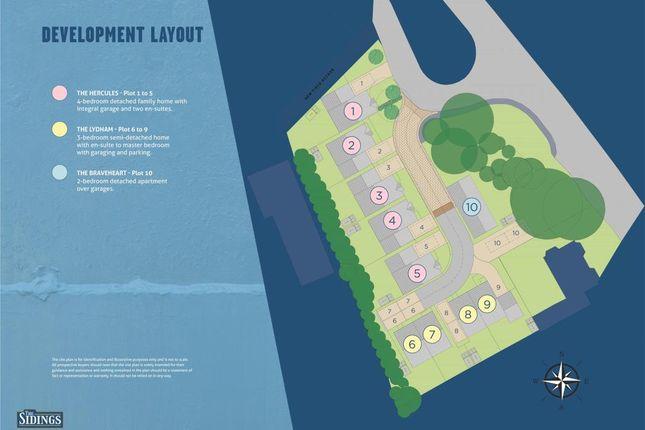 Site Plan of The Sidings, Darmouth Road, Churston Ferrers, Brixham TQ5