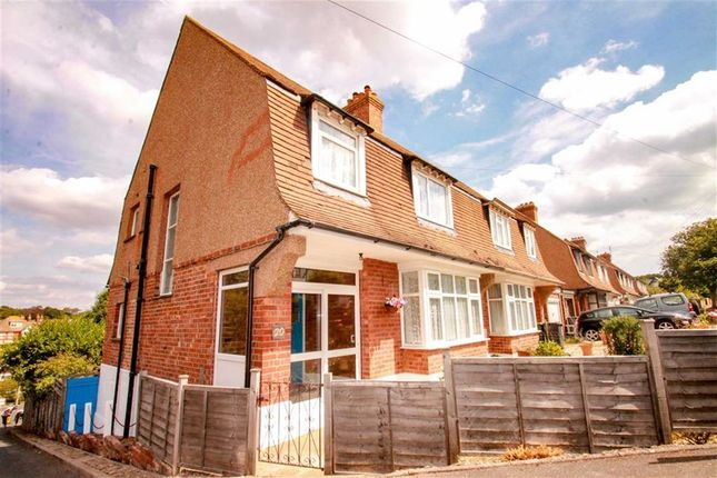 Thumbnail Semi-detached house for sale in Charles Road West, St Leonards-On-Sea, East Sussex