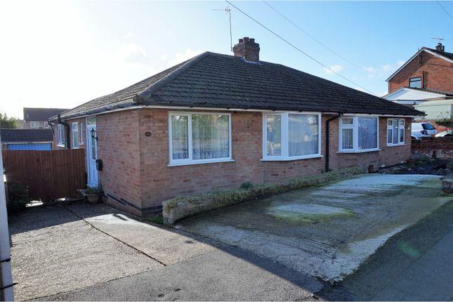 Thumbnail Semi-detached bungalow for sale in Drayton Road, Irthlingborough, Wellingborough