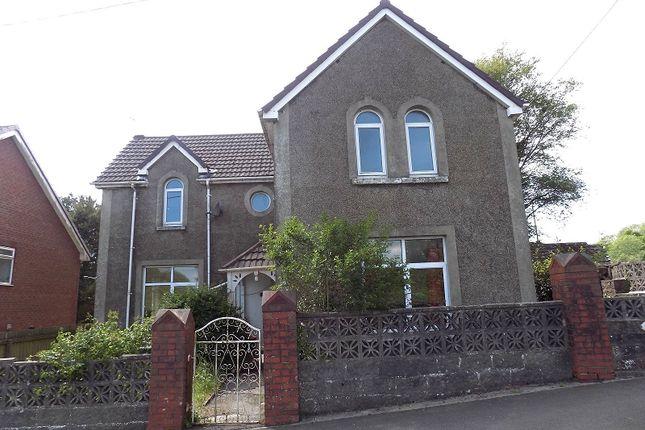 Thumbnail Detached house for sale in Pen-Y-Bryn Road, Brynmenyn, Bridgend.