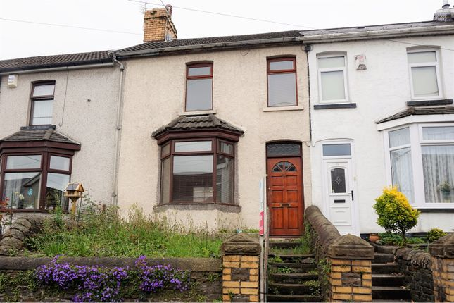 Thumbnail Terraced house for sale in Bridgend Road, Llanharan, Pontyclun