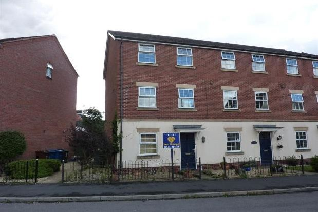 Thumbnail Town house to rent in Williams Avenue, Fradley, Lichfield