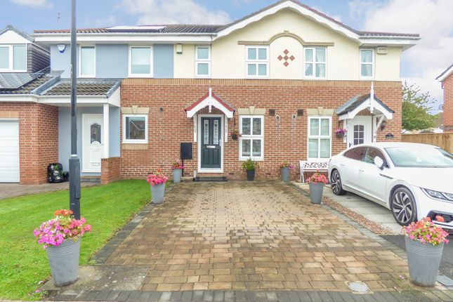 Thumbnail 2 bed terraced house for sale in Stagshaw, Killingworth, Newcastle Upon Tyne