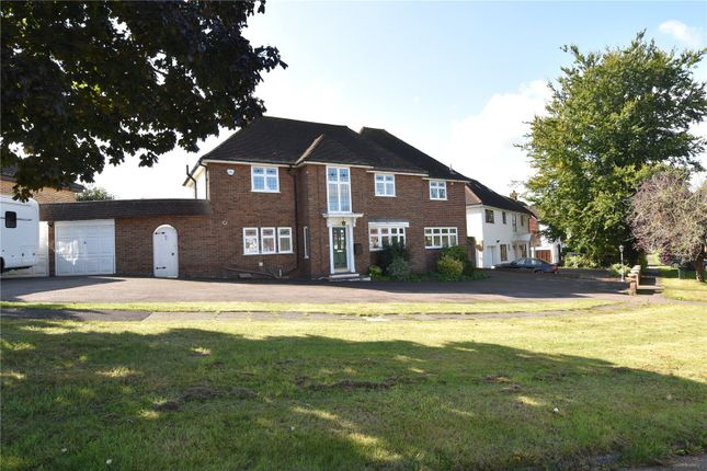 Thumbnail Detached house for sale in The Close, Wilmington, Dartford, Kent