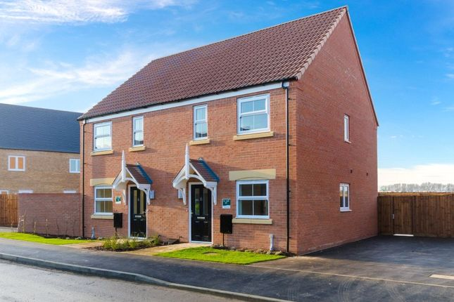 2 bed semi-detached house for sale in Bluebell Walk, Newark
