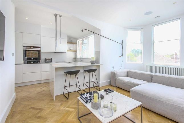 Thumbnail Flat for sale in Orpington Road, Winchmore Hill, London