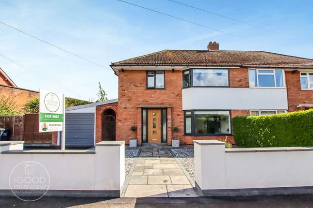 3 bed semi-detached house for sale in Ledbury Road, Hereford HR1