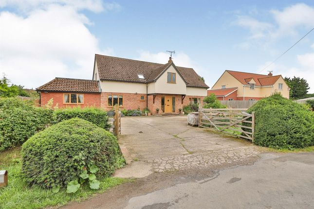 Thumbnail Detached house for sale in Tallon End, Foulden, Thetford