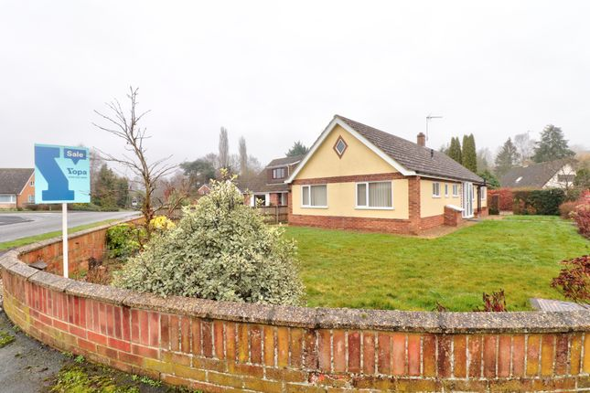 Thumbnail Bungalow for sale in Keswick Road, Cringleford, Norwich