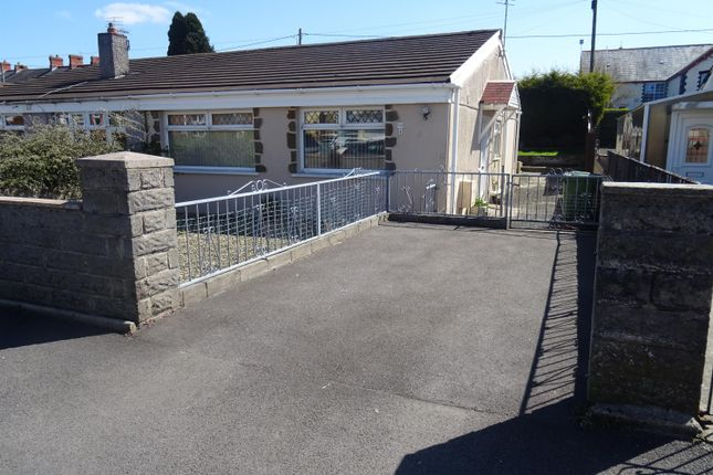 Thumbnail Semi-detached bungalow to rent in Bryn Henllan, Brynna, Pontyclun