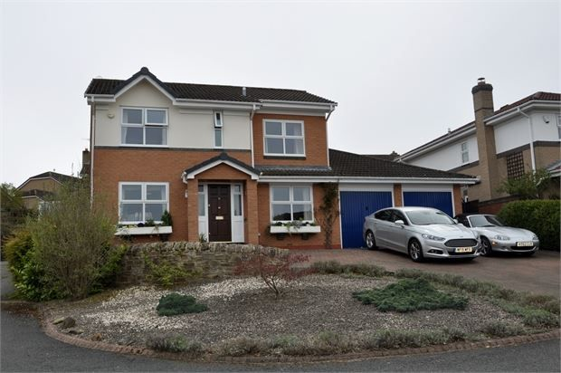 Thumbnail Detached house for sale in Ridley Close, Beaumont Park, Hexham