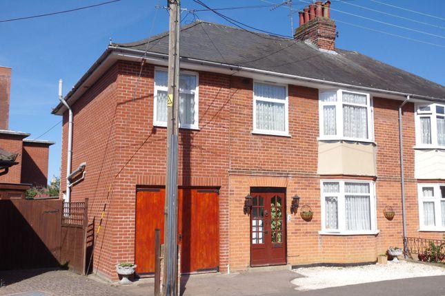 Thumbnail Semi-detached house for sale in Kensington Road, Stowmarket