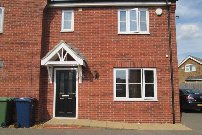 Thumbnail Semi-detached house to rent in Olympian Close, Wisbech