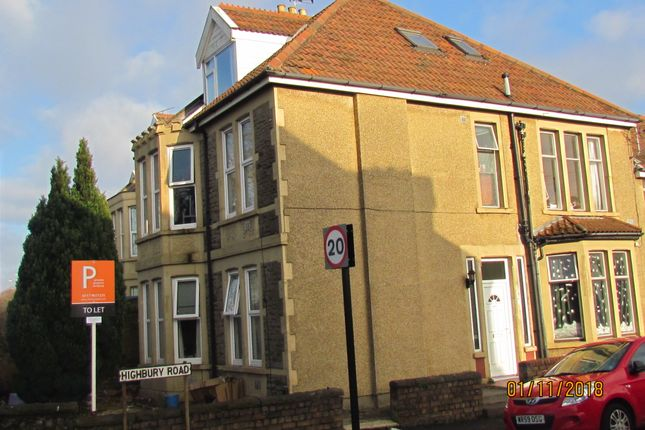 Thumbnail Semi-detached house to rent in Gloucester Road, Bristol