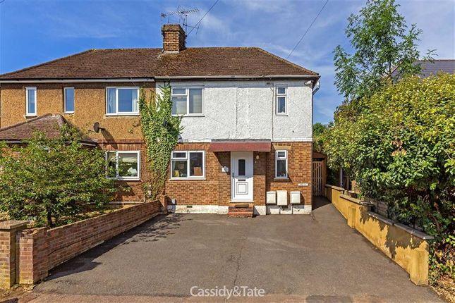 Thumbnail Maisonette to rent in Common Rise, Hitchin, Hertfordshire