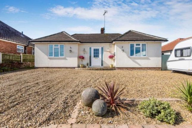 Thumbnail Detached bungalow for sale in Olive Road, New Costessey, Norwich