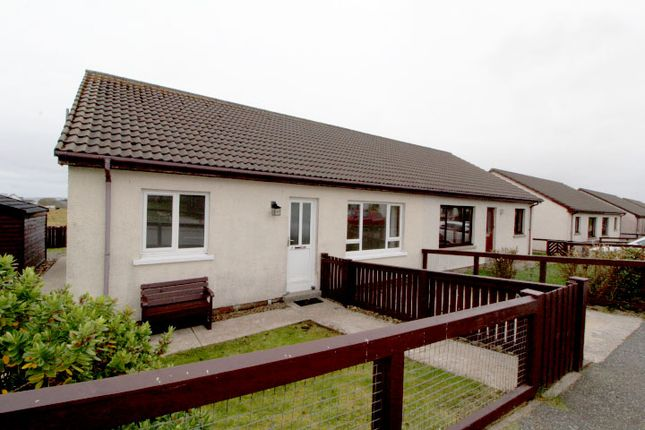 Thumbnail Semi-detached bungalow for sale in 1 Milkinghill Park, Isle Of Lewis