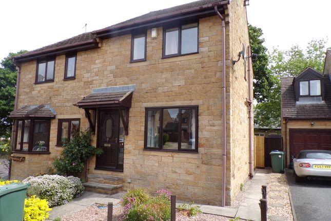 Thumbnail Semi-detached house for sale in Village Mews, Wilsden, Bradford