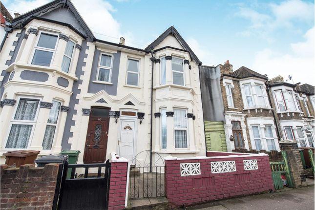 Thumbnail End terrace house for sale in Calderon Road, London