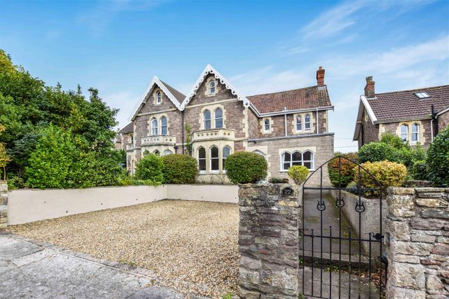 Thumbnail Semi-detached house for sale in Woodhill Road, Portishead, Bristol