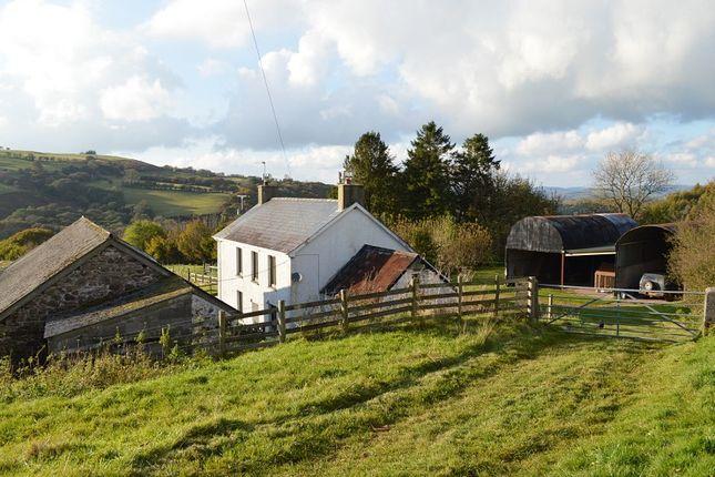 Thumbnail Land for sale in Penrhiw Uchaf, Llanddeusant, Llangadog, Carmarthenshire.