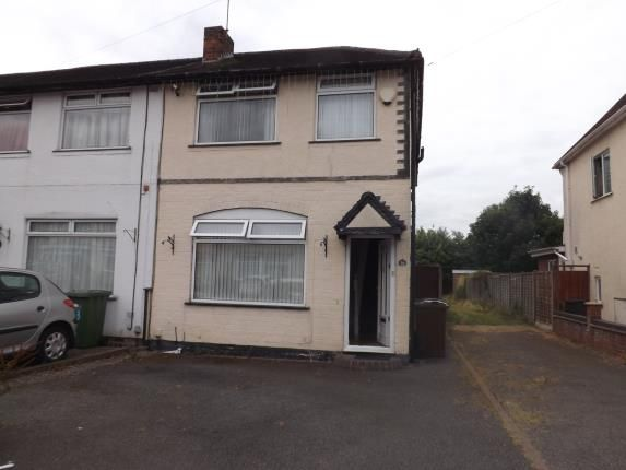 Thumbnail End terrace house for sale in Shakespeare Road, Shirley, Solihull, West Midlands