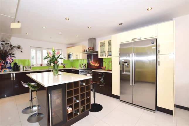 Thumbnail Detached house for sale in Peel Place, Clayhall, Ilford, Essex