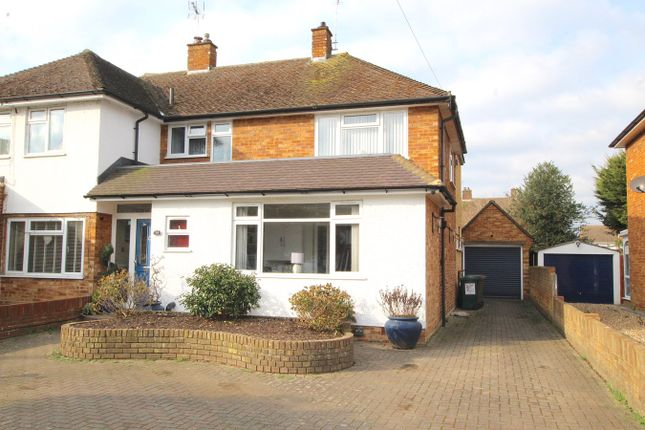 Thumbnail Semi-detached house for sale in Ashurst Drive, Shepperton