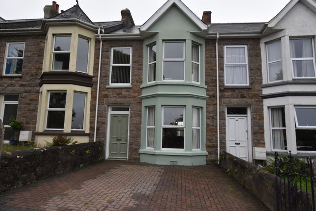 Thumbnail Terraced house for sale in Park Road, Redruth