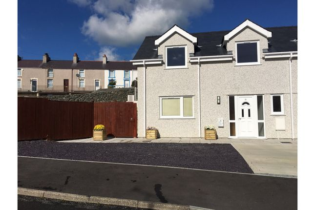 Thumbnail Semi-detached house for sale in Ffordd Wynfa, Holyhead