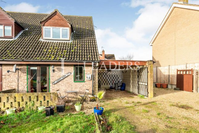Thumbnail Semi-detached house to rent in Kings Road, North Luffenham