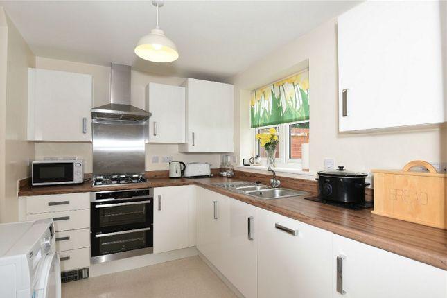 Thumbnail Semi-detached house for sale in Bushfield Court, New Cardington, Bedford