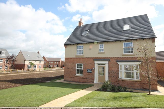 "Thumbnail Detached house for sale in ""Moorecroft"" at Furlong Close, Barkby Road, Syston, Leicester"
