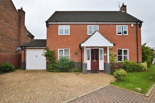 Thumbnail Detached house for sale in Brailsford Close, Dereham