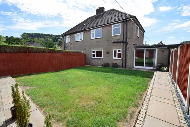 3 bed semi-detached house to rent in Bournebrook Avenue, Wirksworth, Matlock DE4