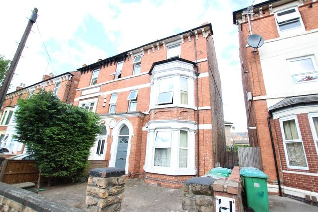 Thumbnail Semi-detached house to rent in Gregory Boulevard, Forest Fields, Nottingham